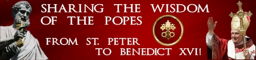 From St. Peter to Benedict XVI!